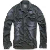 Hardee Denim Shirt-Black