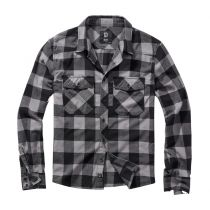 Checkshirt-Black/Light grey